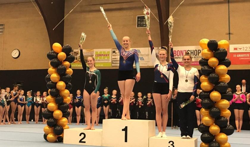 LOVA liet zich zien bij de districtsfinale in Hengelo.