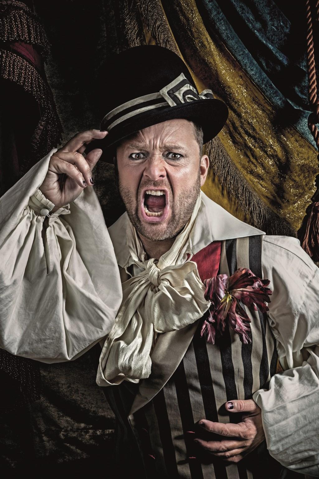 Lachen, gieren, brullen om Richard Groenendijk. (foto: Dik Nicolai)  © Persgroep