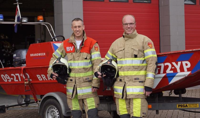 Ashwin (l) en Martijn (r) helpen andere graag daar waar nodig is. Foto: Naomi Wijling.