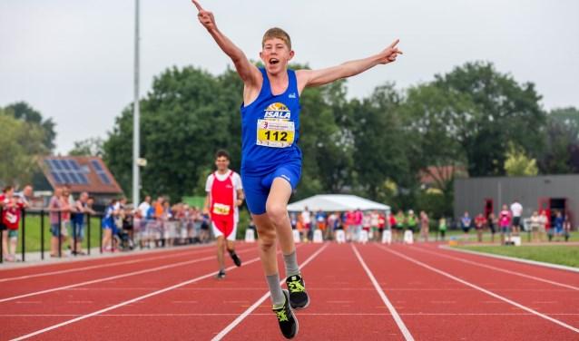 Atletiek is één van de zeven sportonderdelen die op 23 mei op het programma staan.