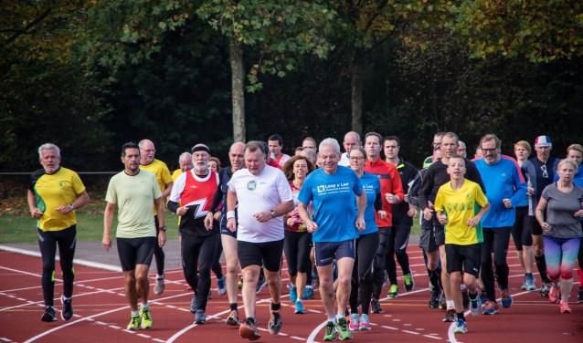 GVAC-trimlopen trekken altijd veel deelnemers. FOTO: Ivo Boerenkamp.