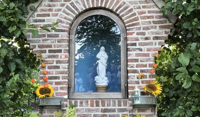 Bij de wandeling passeren we de kapel.