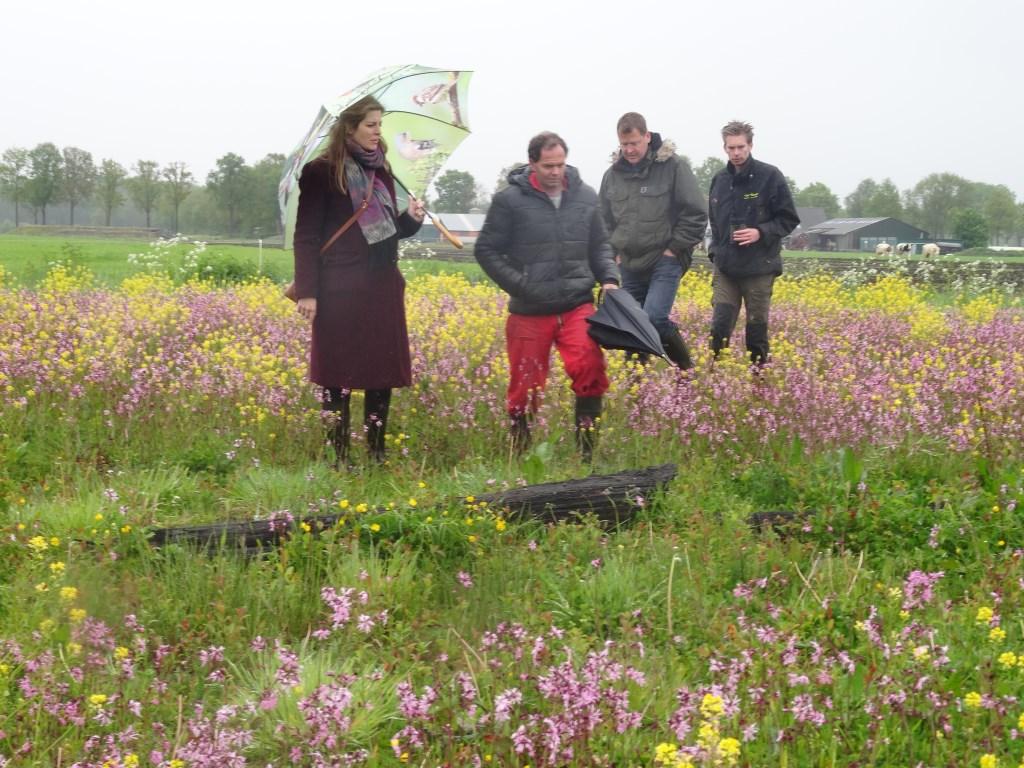 geen plantje wordt gemist bij de monitoring Foto: M. leesberg © Persgroep
