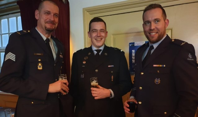V.l.n.r. Dennis Lindeman, Thim Vernooij en Egon van Kessel. (Foto Hanneke Hoefnagel)