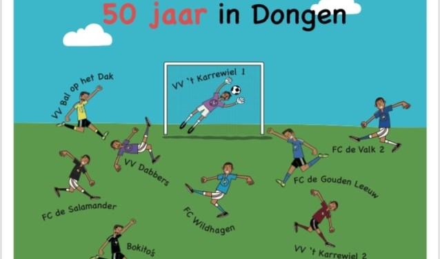 iedereen die het zomeravondvoetbal in Dongen een warm hart toedraagt is welkom