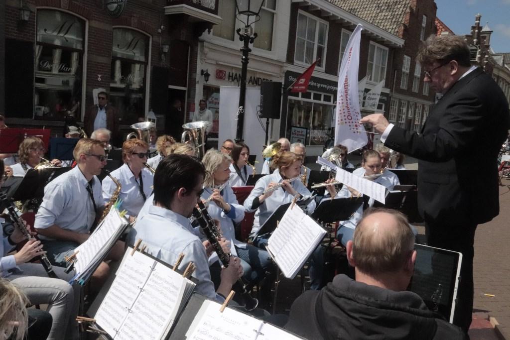 Onder leiding van Henk Houben gaf het 150-jarig Concordia een mooi concert Foto: Theo van Dam © Persgroep