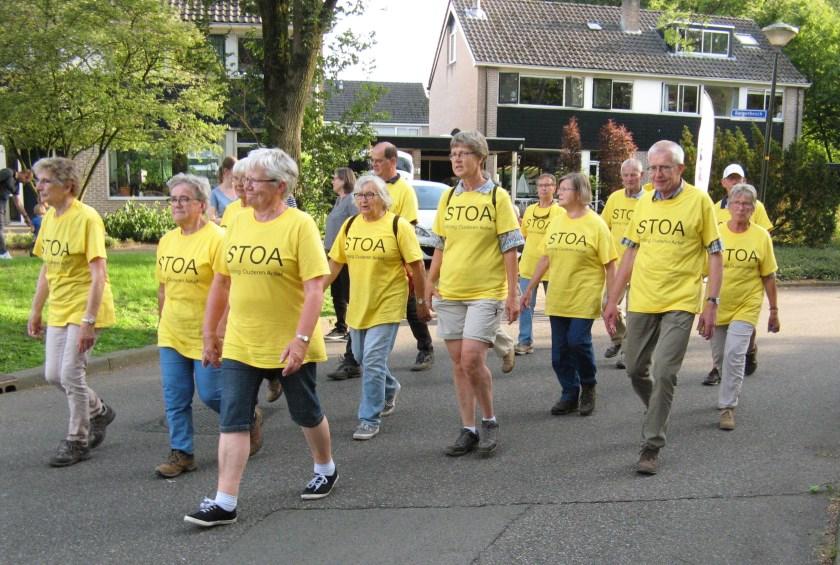 Avondvierdaagse 2018; de STOA wandelt ook dit jaar weer mee.