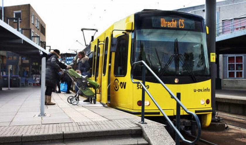 De tramhalte bij Nieuwegein City. Bron: U-OV.