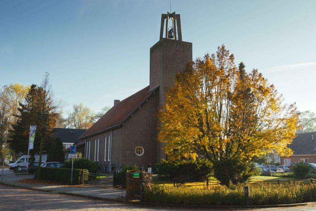 Wederopbouwarchitectuur in Bredevoort, de Koppelkerk uit 1948 Foto: Maarten de Boer © Persgroep