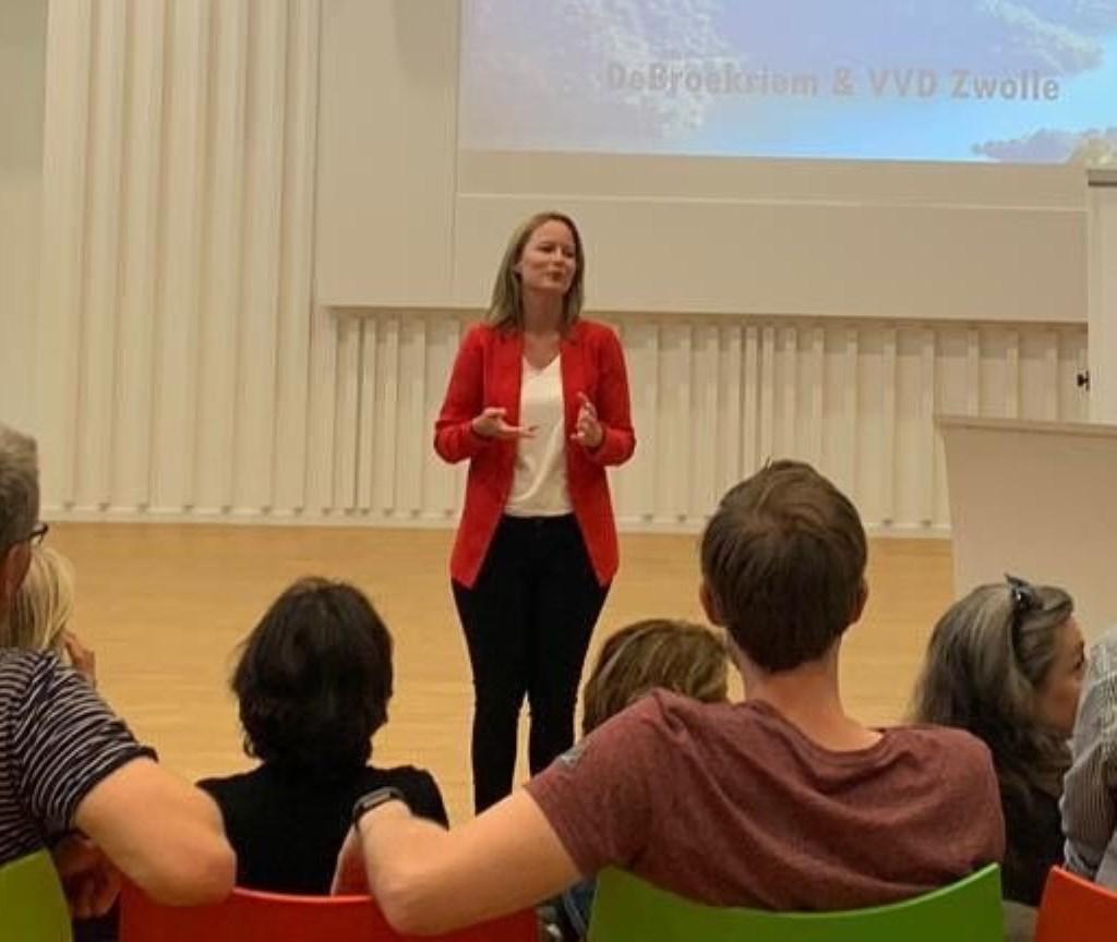 Annemieke Methorst, HR-manager van Stichting DeBroekriem.