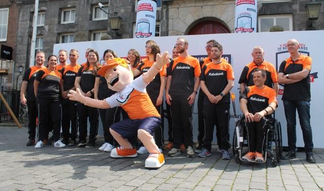 TeamNL, dat vanaf maandag 3 juni voor Nederland uitkomt op de WK Handboogschieten. Foto: Yoerak van Voorst