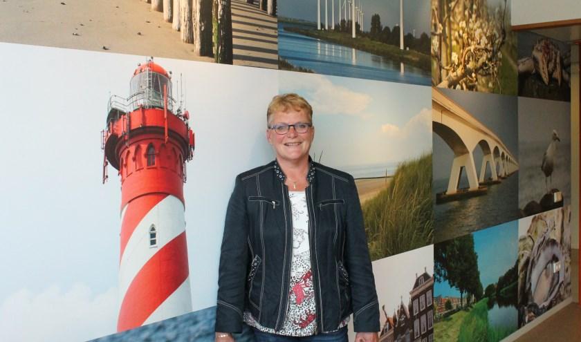 """Vice-voorzitter cliëntenraad Annemieke Bruins: """"Iedereen kan in de cliëntenraad."""" FOTO LEON JANSSENS"""