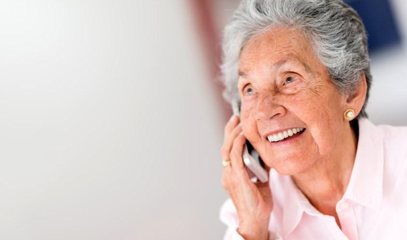 Dankzij de Contactcirkel heb je iedere dag persoonlijk contact. (foto: Shutterstock.com)