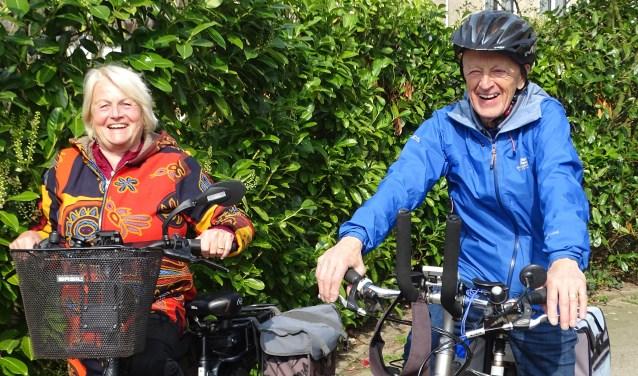 Evelien en Piet organiseren al heel wat jaren fietstochten met hun club