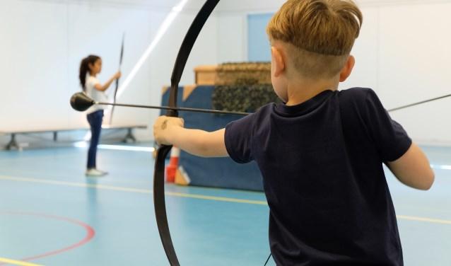 In aanloop naar de WK handboogschieten organiseert More2Win, speciaal voor Quiet kids, wekelijks 'World Archery' kinderfeestjes.