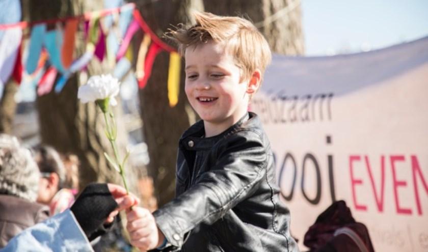 Kids kunnen zich vermaken in het speelkasteel, de natuurspeeltuinen en de kinderboerderij.