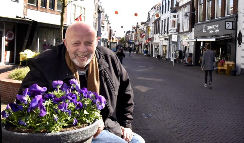Een nieuwe uitdaging voor centrummanager Ronald van Rossum. Hij gaat zich vanaf deze zomer inzetten voor Gouda 750 jaar in 2022