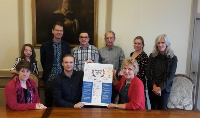 """Wethouder Lavinja Sleeuwenhoek is blij met deze samenwerking: """"Samen bereik je meer dan alleen."""""""