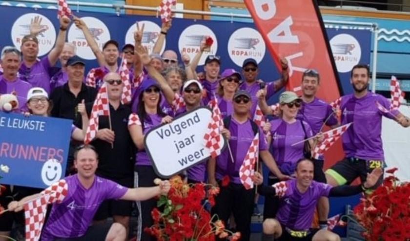 Roparunteam 4Them staat op 8 juni voor de 8ste keer aan de start van de Roparun; het langste estafette hardloopevenement ter wereld.