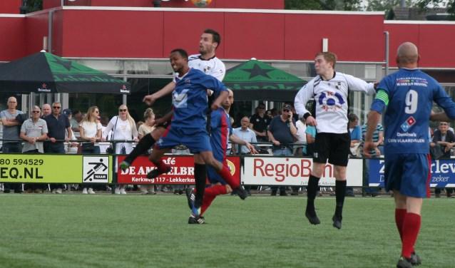 Zokeek Lekkerkerk na twee kansen in 80 minuten voetbal voor de bezoekers tegen een 0-2 achterstand aan.