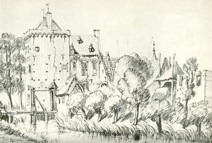 Huis Rijswijk 18e eeuw.