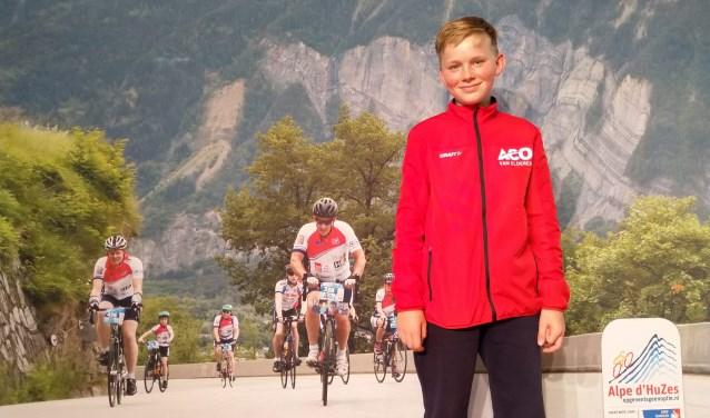 Mikel Berenst houdt zaterdag een oefentriatlon op de Zandstuve voor Alpe d'Huzes.