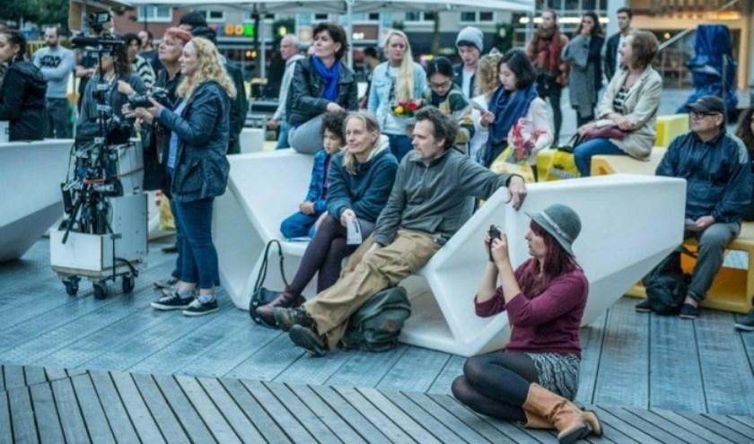 Vrijdag kun je genieten van de meest vooruitstrevende ensembles van diverse conservatoria op het Schouwburgplein.