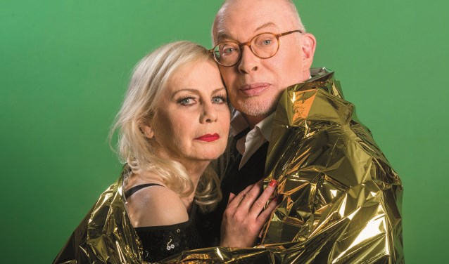 Frans Mulder en Trudy Labij zijn zondag 19 mei te gast in De Kleine Willem in Enschede.Foto: Ben van Duin