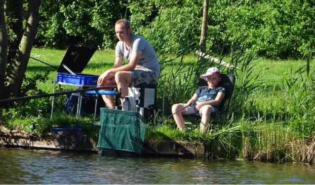 Alle inwoners zijn uitgenodigd om mee te doen aan de viswedstrijd op 25 mei. Eigen foto.