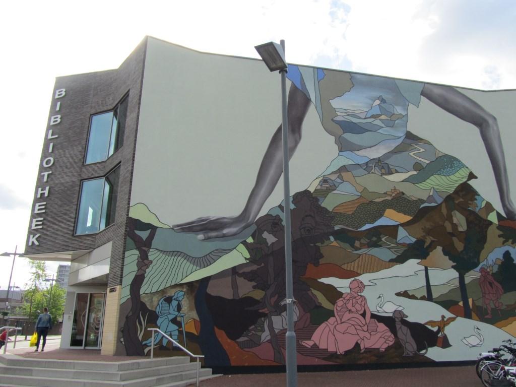 De bibliotheek aan de Watermolenwal in Helmond.  Foto: Helmy van Dooren © Persgroep