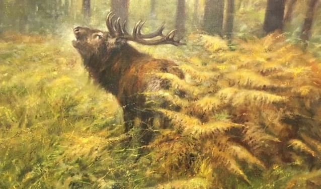 Dankzij medewerking van het Rien Poortvlietmuseum, zijn ook schilderijen van Rien Poortvliet onderdeel van de expositie.