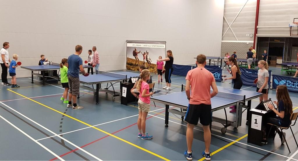 Zestien duo's deden mee met het toernooi. (Foto: Eric van Noorden)  © Persgroep