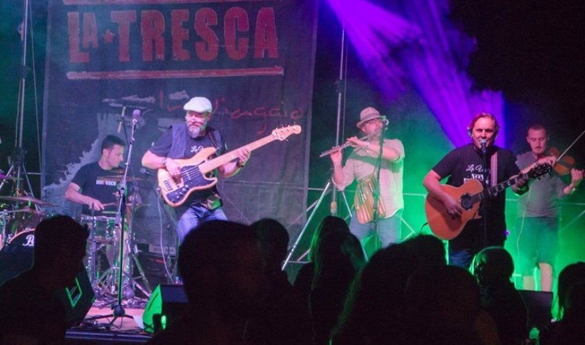 La Tresca uit Italië is één van de internationale acts die op 30 mei op het podium van festival Alegria staan.