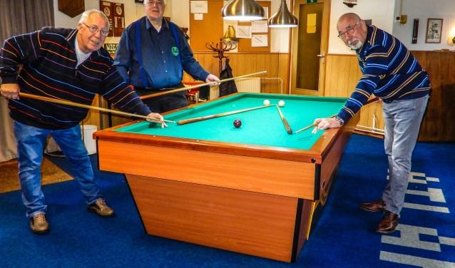 De club speelt ook competitie in de Stedendriehoek en is aangesloten bij de Koninklijke Nederlandse Biljart Bond. (Foto: Gerard Kiezebrink)