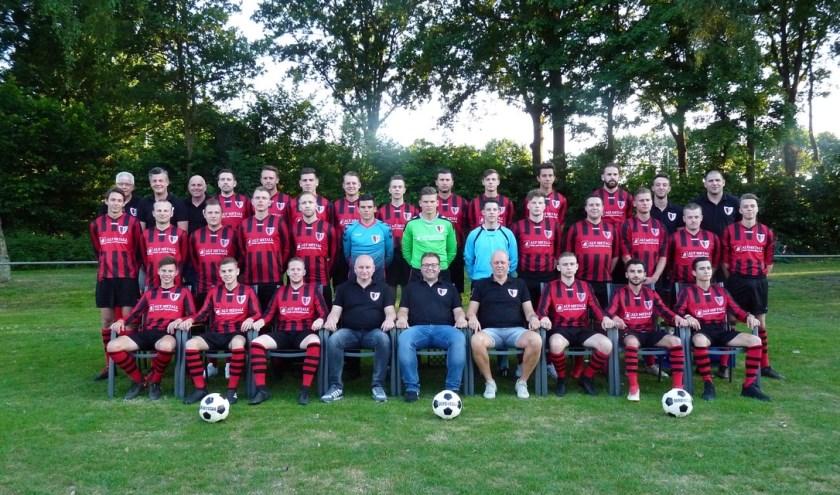 SC Overdinkel heeft nog steeds kans op de titel in de vierde klasse B.