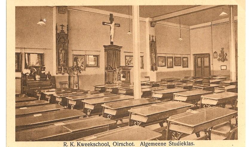 Foto en tekst heemkundekring 'De Heerlijkheid Oirschot'.