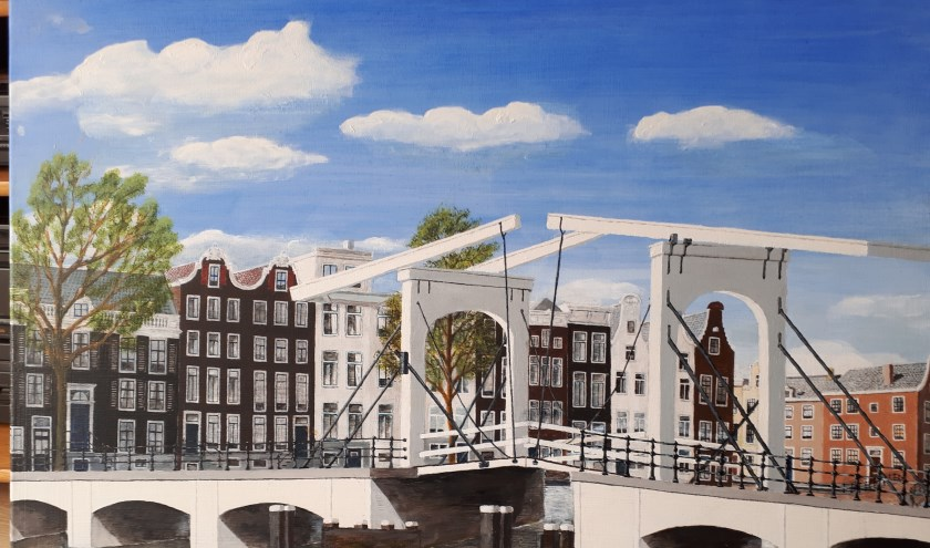 Een van de schilderijen van Scheppingen uit Boxmeer.