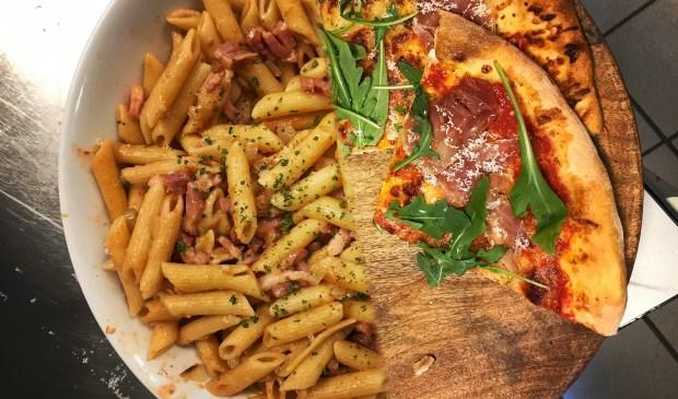 Als verrassing kregen de eigen koks vrijaf en mochten de pizzabakkers van Pizzatrain op 7 mei aantonen dat ook zij de keuken beheersen.