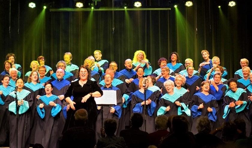 Gospelkoor Spirit, met leden uit de hele regio. Ze spelen binnenkort in Berlicum.