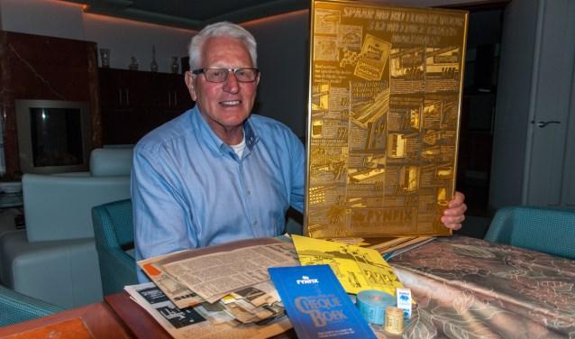 Leo Gordijn koestert de herinneringen aan zijn tijd als kolenboer en mede directeur van doe-het-zelf handel Fijnfix.