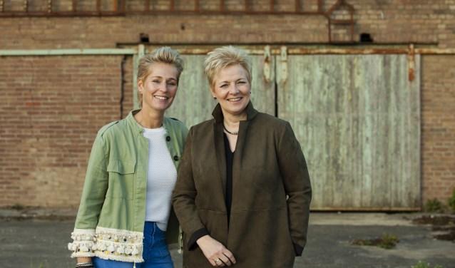 Ina Vernooij en Irma van den Brink Foto: Anneke Troost