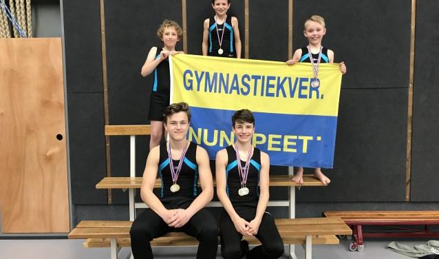 Springers GV Nunspeet succesvol tijdens de individuele wedstrijden. (Eigen foto)