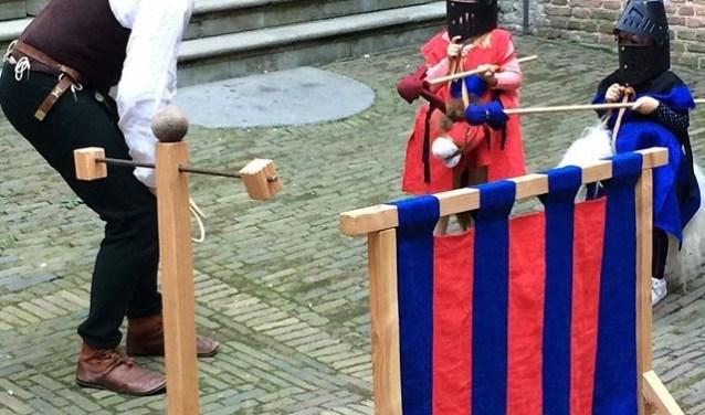Doe 'mee' met ridderspelen!