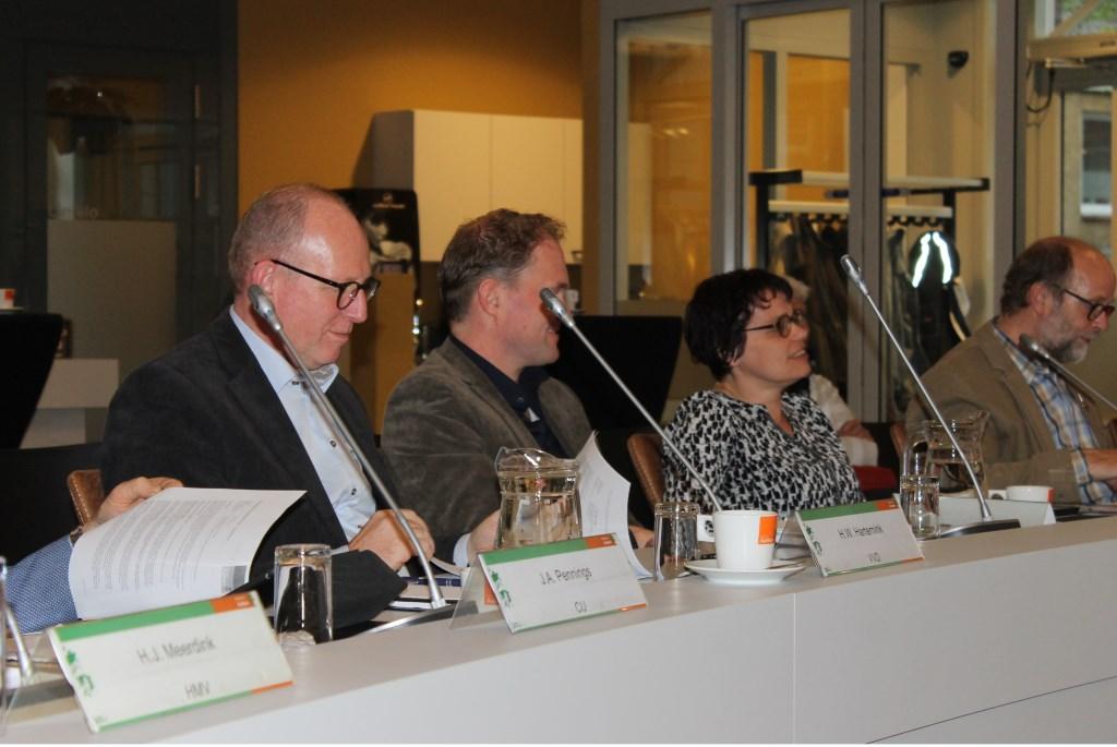 Linda Oonk heeft zitting genomen als nieuw raadslid voor de VVD in de gemeente Aalten. Foto: Leo vander Linde © Persgroep