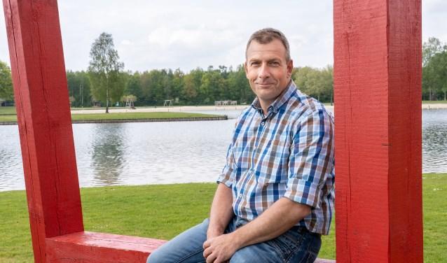 Parkmanager René Nollen van Het Lageveld: 'Het is meer dan alleen zwemmen.'' Foto's: Paulien Wilkinson