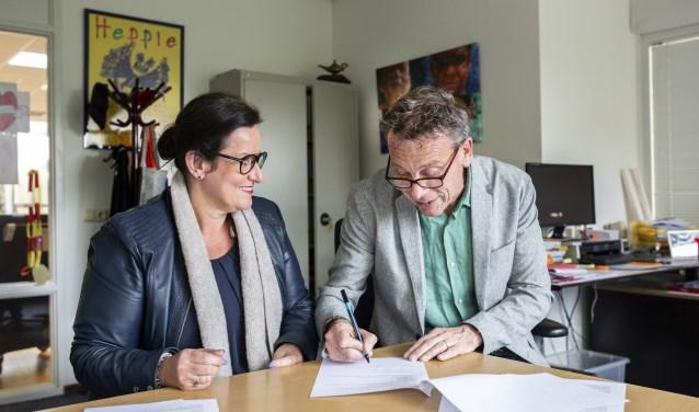 Ingrid Kloosterman en Jos Schoenmakers