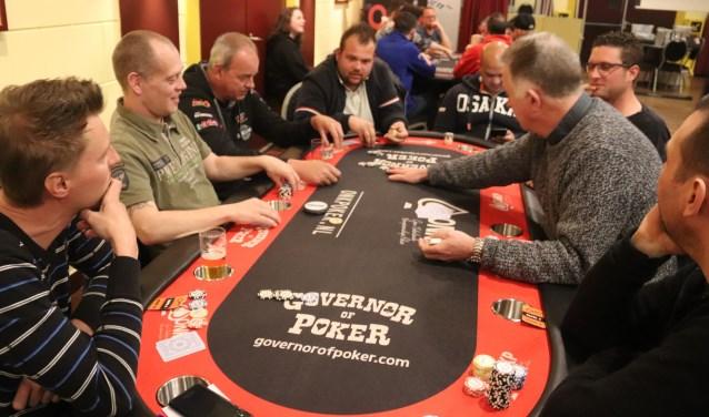 Er waren veel deelnemers voor het OpenNederlands kampioenschap pokeren in Culemborg