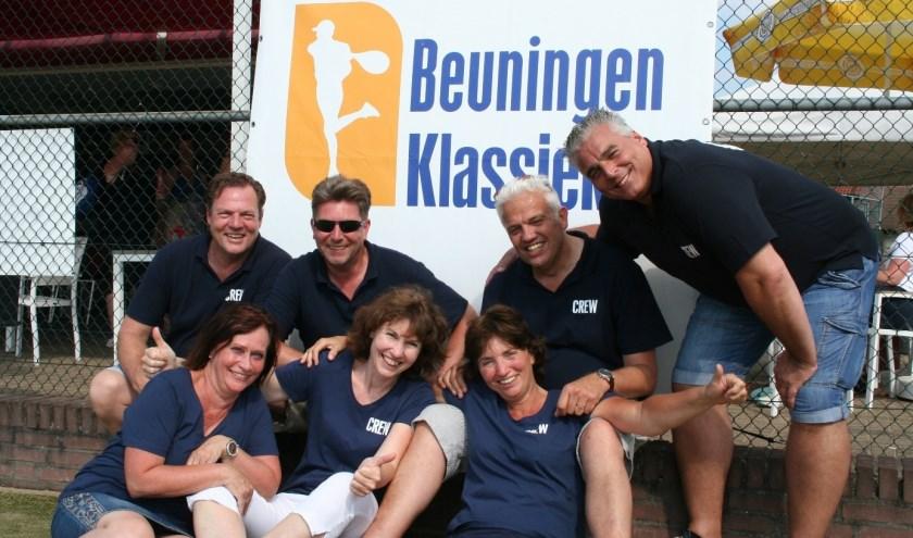 De toernooicommissie van het Klassiek-tennistoernooi.