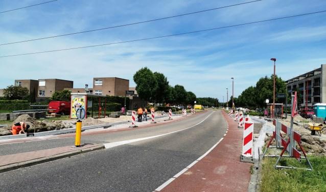 Ondanks de plannen om de halte Gebrandypark op te heffen wordt deze vernieuwd. Foto: Anne-Marije Zwart.