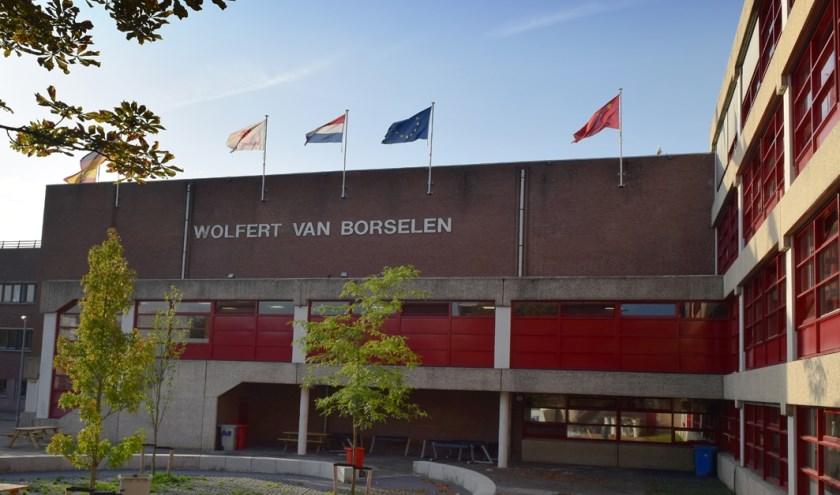 Het gebouw van het Wolfert Tweetalig